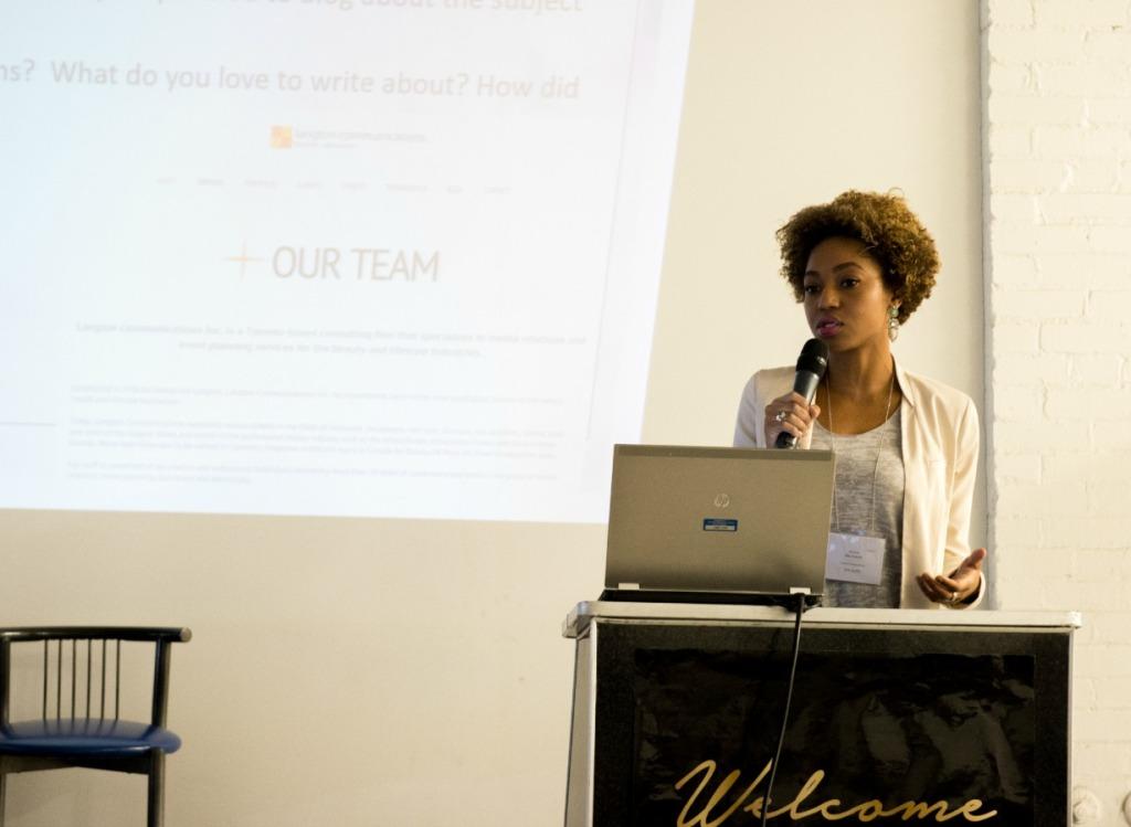 Maxine McDonald spark sessions conference 2014 credit Kin Hai