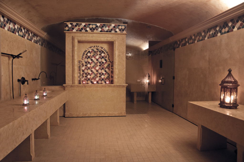 miraj-hammam-spa-Claudalie-shangri-la-toronto-steam-room