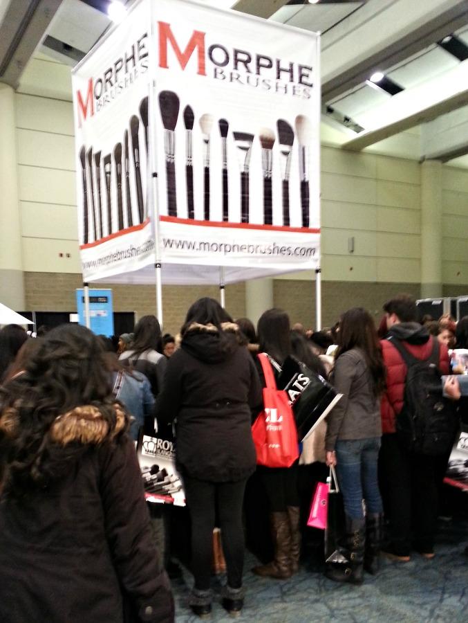 IMATS 2014 Experience morphe brushes