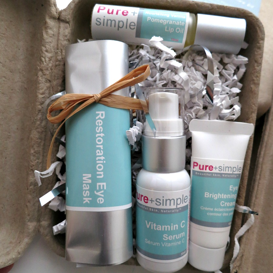 Last Minute Gift Ideas Pure + Simple Holiday Beauty Rescue Set