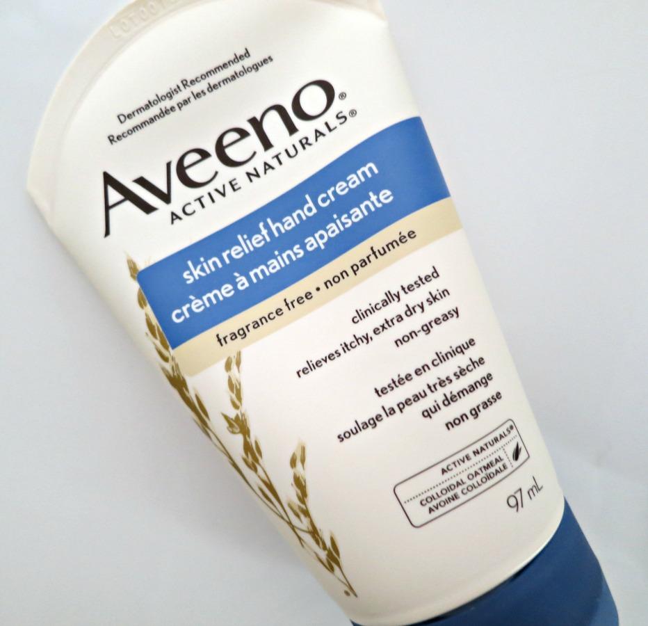 Winter Beauty Picks - Aveeno Skin Relief Hand Cream