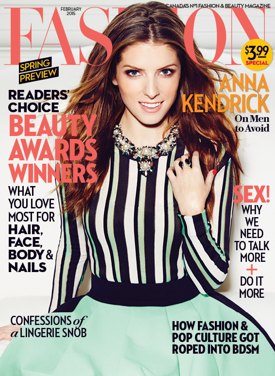Anna Kendrick on the Cover of FASHION Magazine