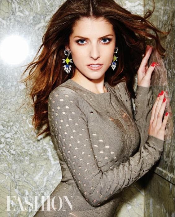 Anna Kendrick FASHION Magazine February 2015  // Toronto Beauty Reviews