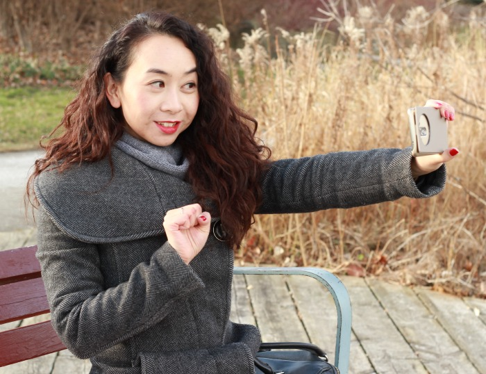 LG G3 beauty campaign gesture mode