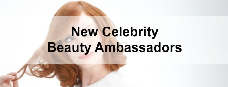 celebrity beauty ambassadors January 2015 feature