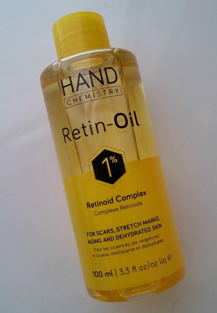 Hand Chemistry Retin-Oil // Toronto Beauty Reviews