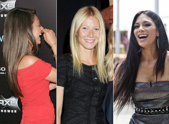 Straight Hair Celebrities // Toronto Beauty Reviews