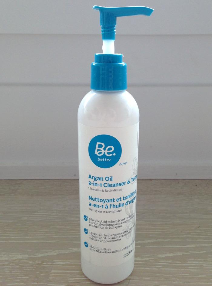 Be Better Argan Oil 2-in-1 Cleanser & Toner // Toronto Beauty Reviews