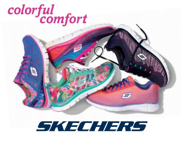 Getting Colourful with Skechers Canada Flex Appeal Shoes