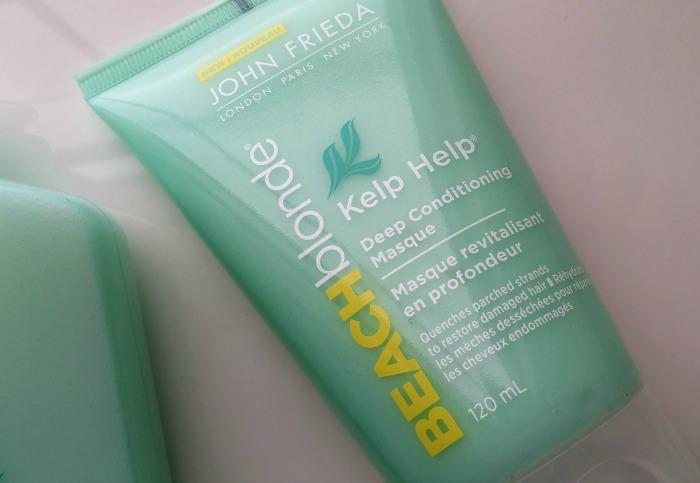 John Frieda Beach Blonde Kelp Help Deep Conditioning Masque // Toronto Beauty Reviews