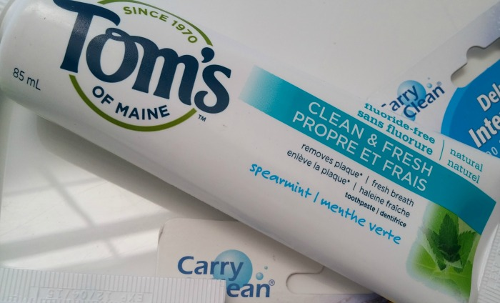 Tom's Toothpaste // Toronto Beauty Reviews