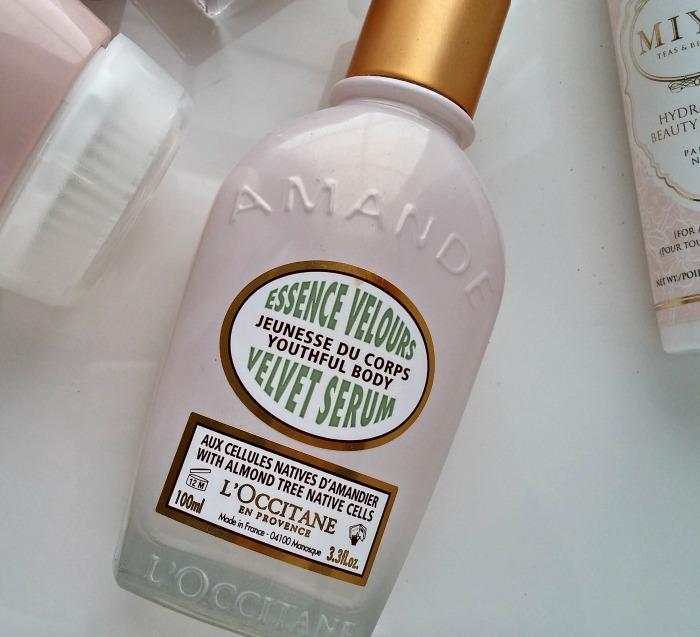 Blushing Bridal Beauty L'Occitane Almond Velvet Serum // Toronto Beauty Reviews