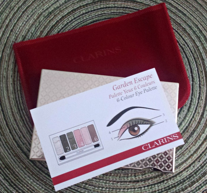 Clarins Garden Escape Palette // Toronto Beauty Reviews