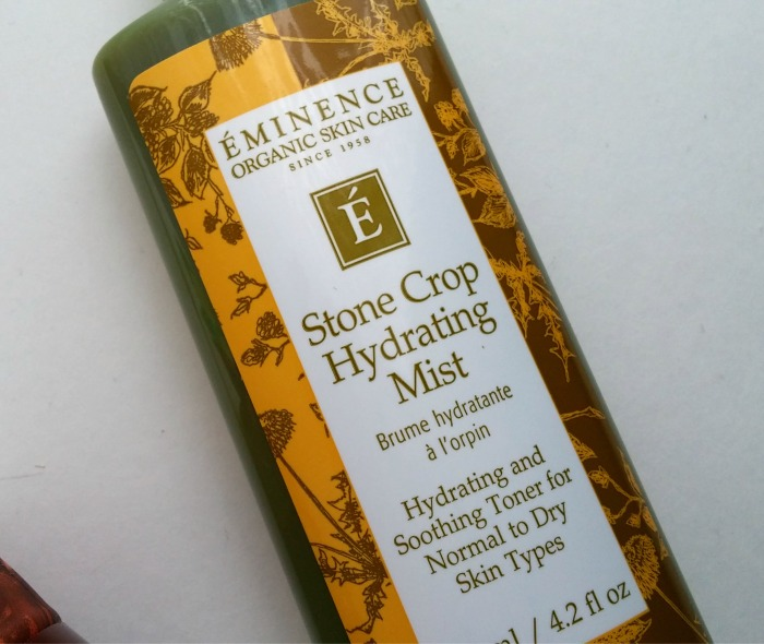 Eminence Organics Stone Crop Hydrating Mist // Toronto Beauty Reviews
