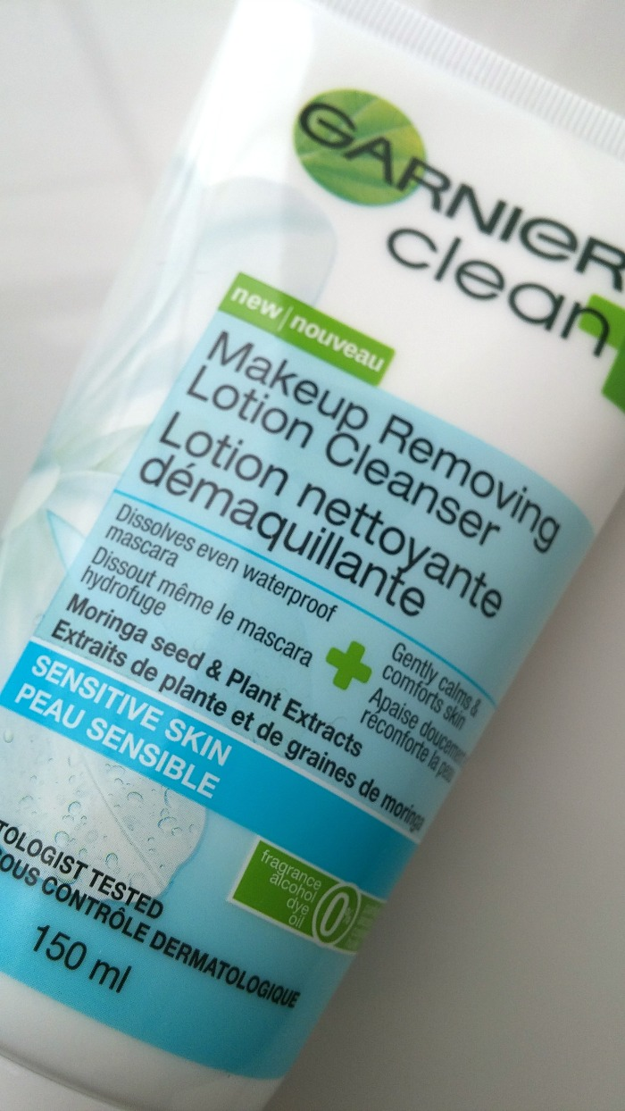 Garnier Clean + Makeup Removing Lotion Cleanser // Toronto Beauty Reviews