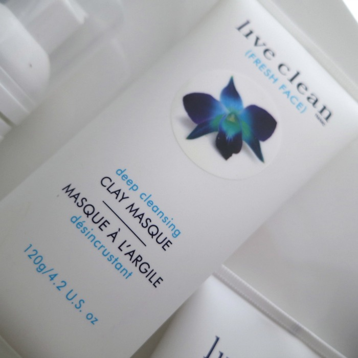 Live Clean Fresh Face Deep Cleansing Clay Masque // Toronto Beauty Reviews