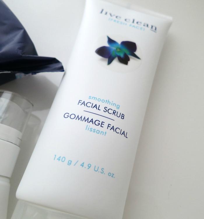 Live Clean Fresh Face Smoothing Facial Scrub // Toronto Beauty Reviews