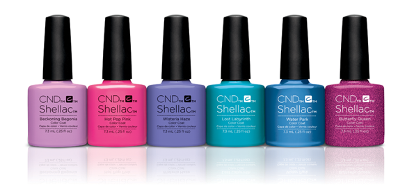 CND Garden Muse Collection Shellac // Toronto Beauty Reviews