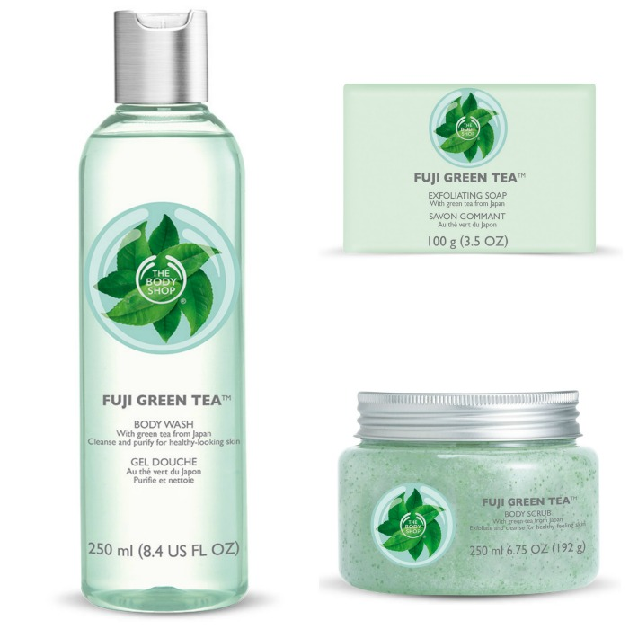 The Body Shop Fuji Green Tea Collection Cleansers // Toronto Beauty Reviews