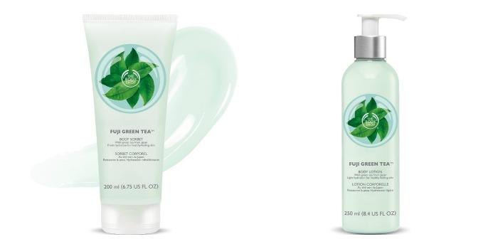 The Body Shop Fuji Green Tea Collection Moisturizers // Toronto Beauty Reviews