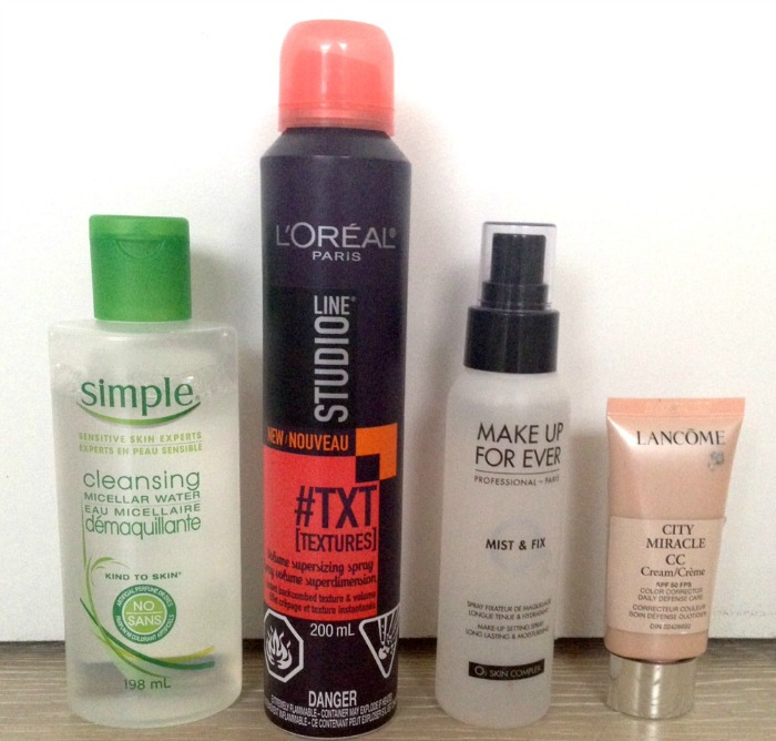 Alysia's Current Beauty Faves