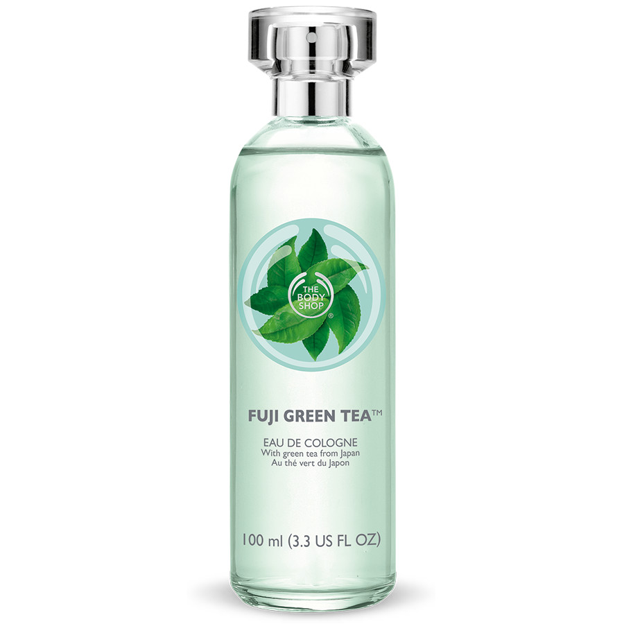 The Body Shop Fuji Green Tea Collection Eau De Cologne // Toronto Beauty Reviews