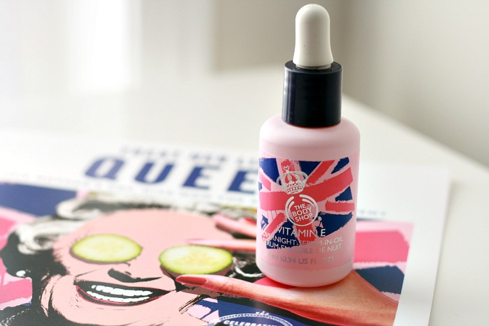 The Body Shop Vitamin E Serum - Union Jack // Toronto Beauty Reviews