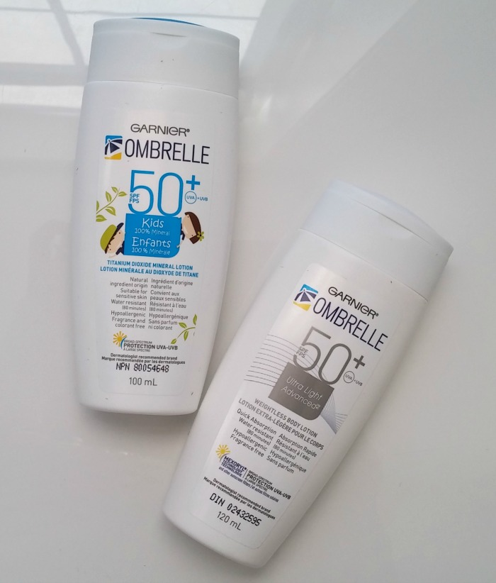Review: New Ombrelle  Sunscreens