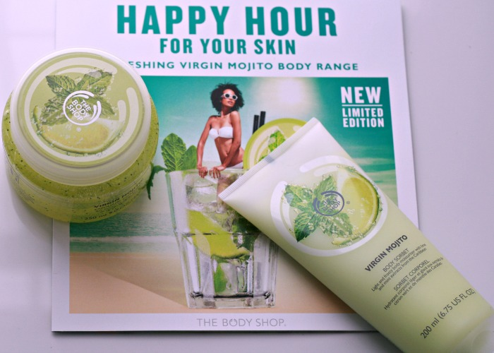 The Body Shop's Virgin Mojito Line