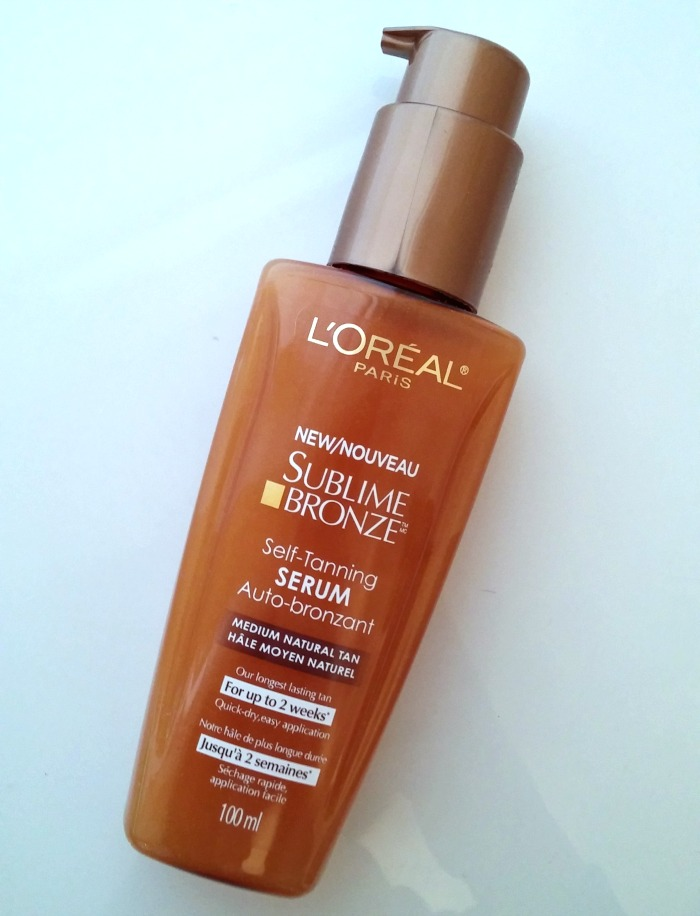 Review: L'Oreal Paris Sublime Bronze Self Tanning Serum
