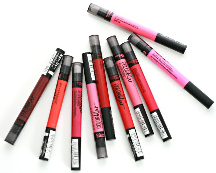 Maybelline Color Blur Drama Matte Pencils