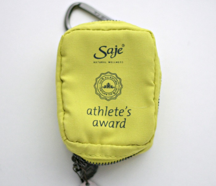 Saje Athlete's Award Kit // Toronto Beauty Reviews