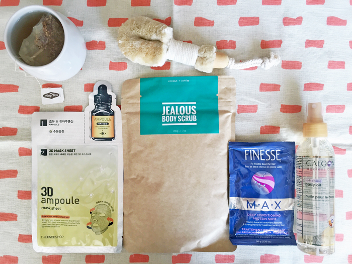 4 Products for a Relaxing Home Spa Treatment