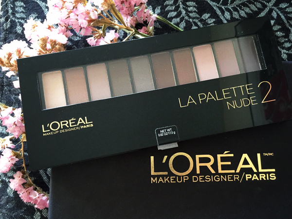 L'Oréal Colour Riche La Palette Nude // Toronto Beauty Reviews