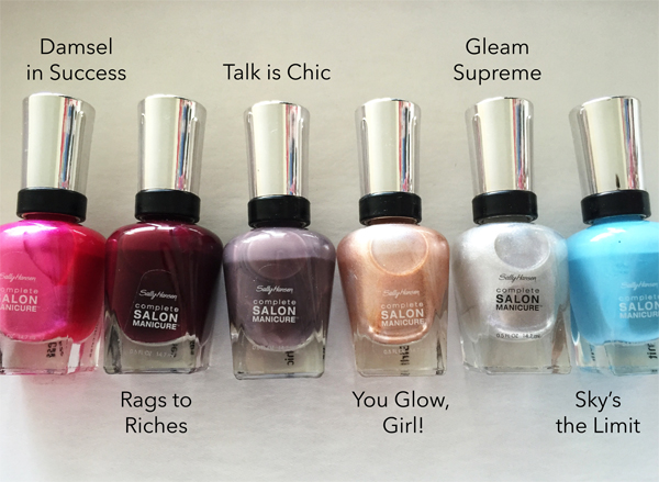 Sally Hansen Complete Salon Manicure Fall 2015 // Toronto Beauty Reviews