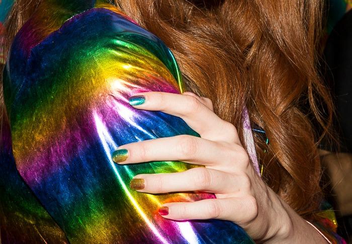 nail art, nail design, rainbow nails, gradient nails,