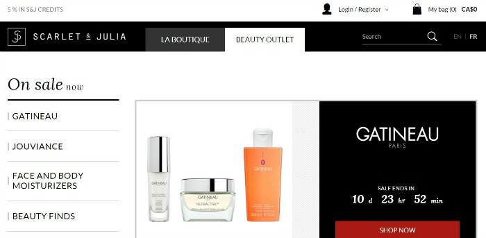 Scarlet & Julia - online beauty shopping // Toronto Beauty Reviews