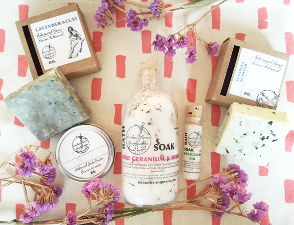 Jordan River Soapworks Products