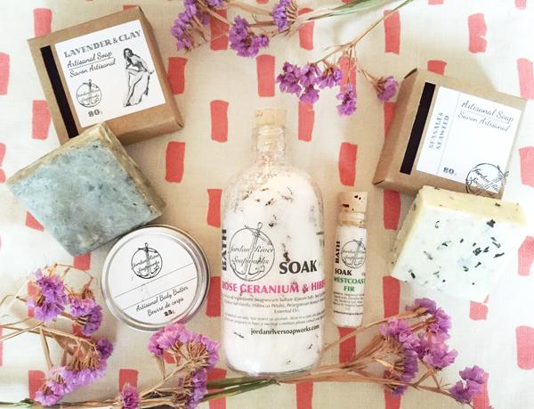 Jordan River Soapworks Products