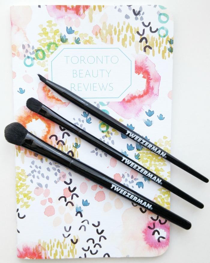 Affordable brushes, makeup brushes, brush set, Tweezerman Eye Defining Set // Toronto Beauty Reviews