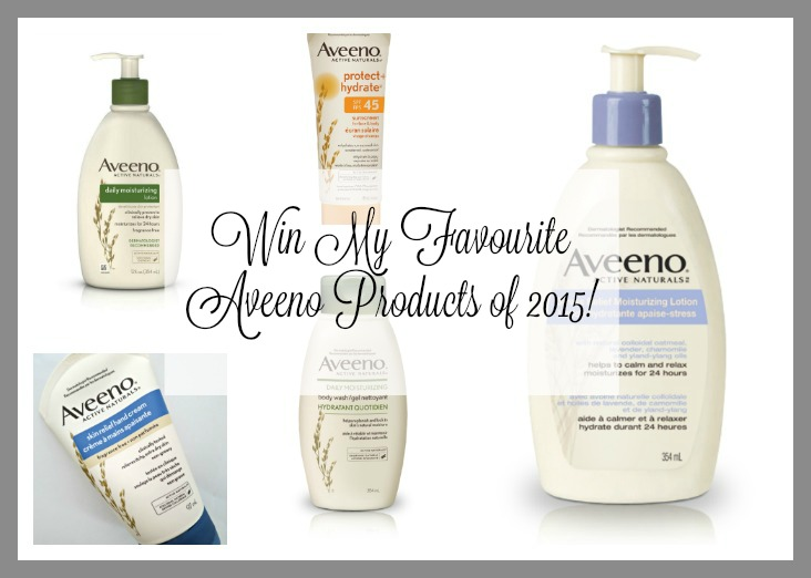 {Giveaway} Aveeno Favourites