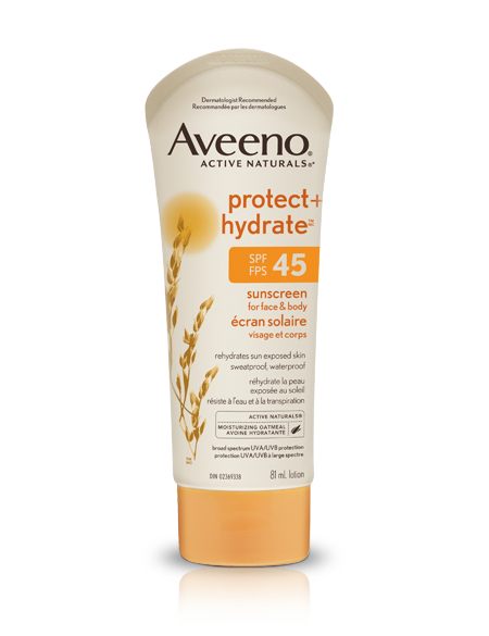 Aveeno Protect + Hydrate Sunscreen