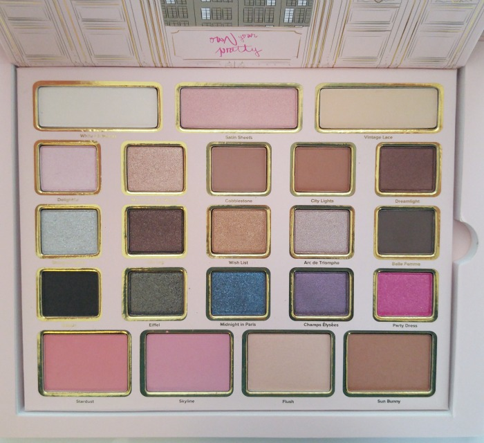 Too Faced Le Grand Palais - The Ultimate Beauty Gift // Toronto Beauty Reviews