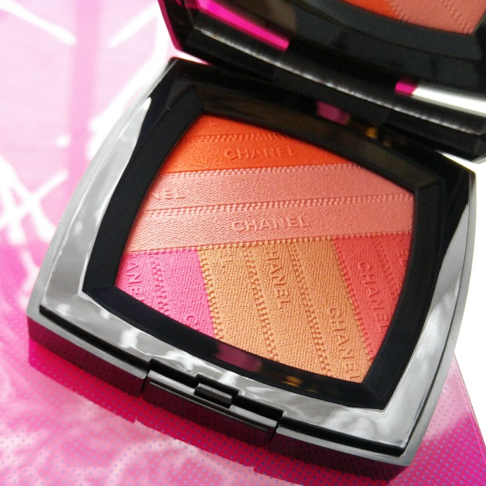 Chanel Makeup Spring 2016, Toronto Beauty Reviews, Sunkiss Ribbon, blush, L.A. Sunrise