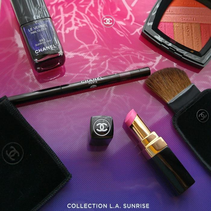 Chanel Makeup Spring 2016, makeup collection, Chanel makeup, L.A. Sunrise,