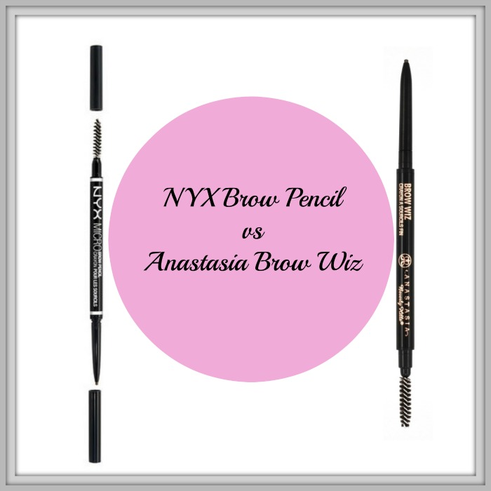 NYX Brow Pencil vs Anastasia Brow Wiz