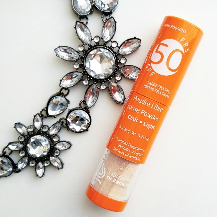 loose powder, SPF, makeup, Dr. Renaud skin care, Anti-Aging, beauty review