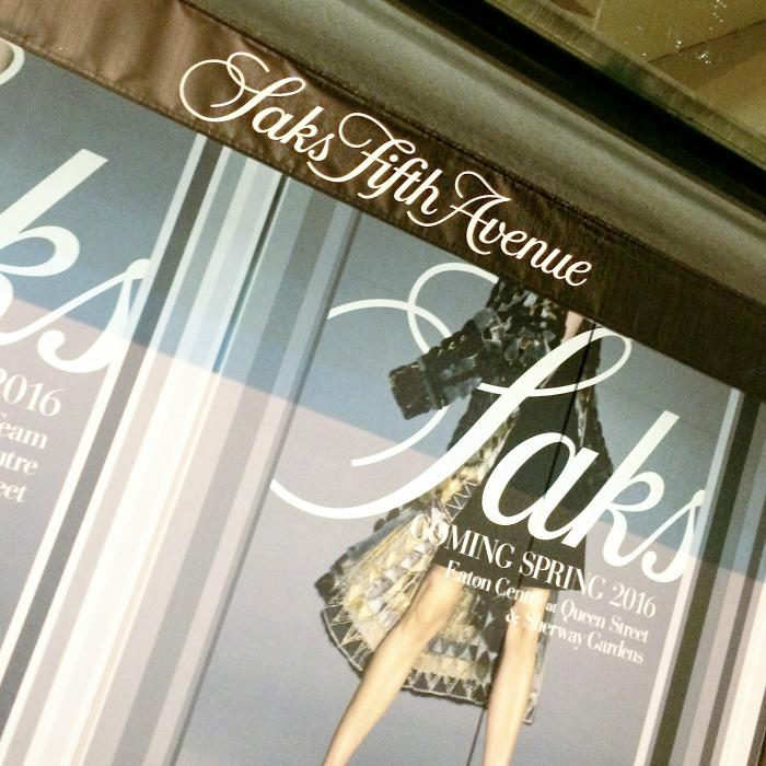 Saks Fifth Avenue Canada Opening // Toronto Beauty Reviews