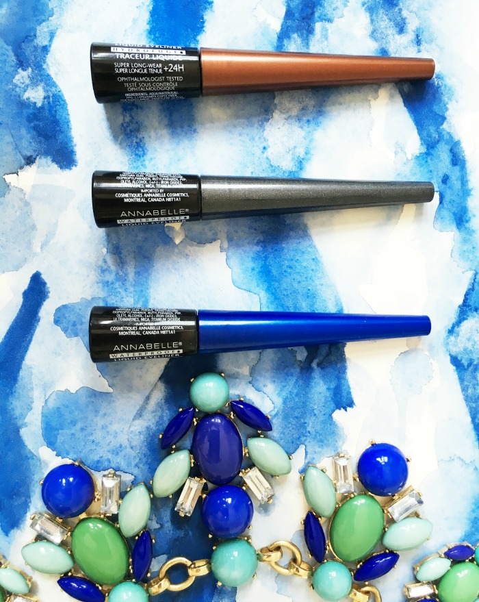 Annabelle Cosmetics Eyeliner and Lip Lacquer // Toronto Beauty Reviews