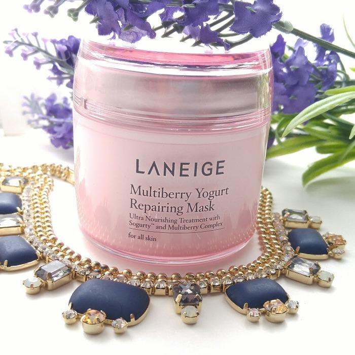 LANEIGE skin care routine, mask, yogurt mask, Korean skin care